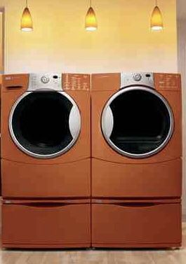Kenmore HE Washer & Gas Dryer w/pedestals for Sale in Fontana, CA