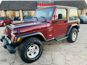 2001 Jeep Wrangler for Sale in Plainfield, IL