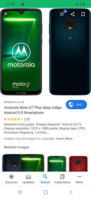 Moto g7 plus for Sale in Rogers, AR