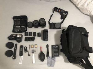 Sony 6500 mirrorless camera bundle for Sale in Miami, FL