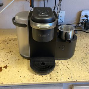 Juergen K-Cafe Single serve Ciffee, Latte and Cappuccino Marker, Charcol for Sale in Acton, CA