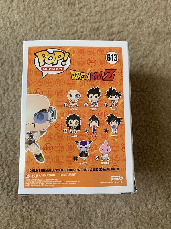Dragon Ball Nappa Funko Pop