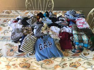 lLarge lot baby clothes for boy 0 -3 months in excellent condition for Sale in Longview, WA