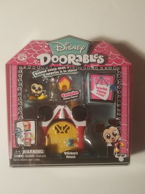 Disney doorables mini stack playset Mickey and friends for Sale in Clinton, IA