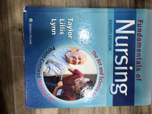 Fundamental of nursing 8th editions for Sale in Silver Spring, MD
