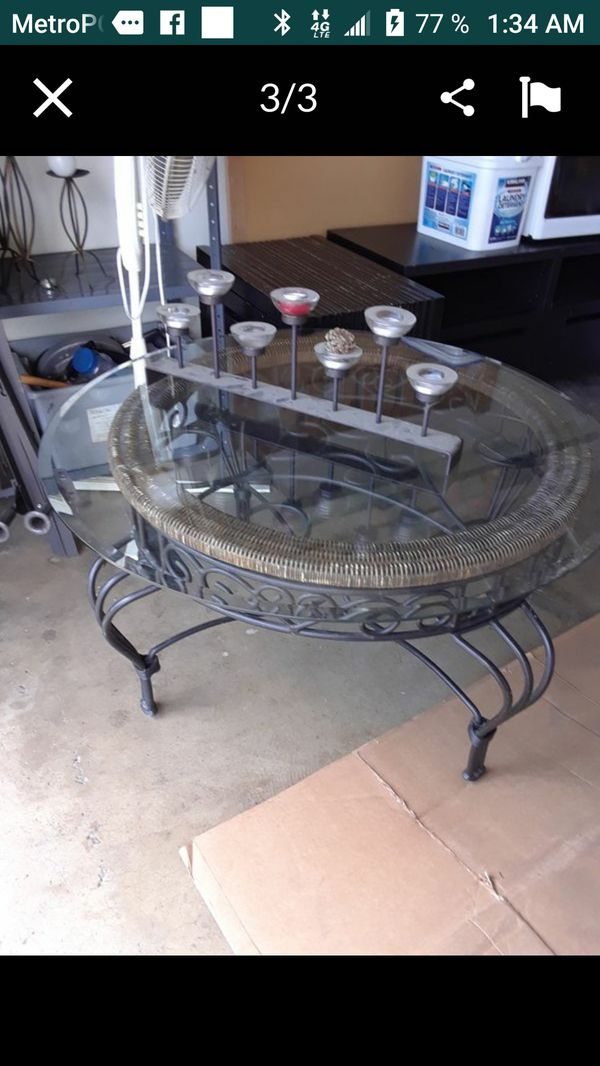 Mesa de centro Glass coffe table