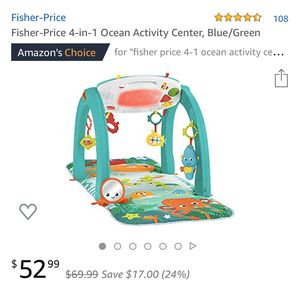 fisher price 4-1 ocean activity center for Sale in Smyrna, TN