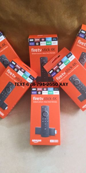 Amazon Fire TV stick (4K HDR) Loaded for Sale in Atlanta, GA