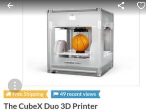 CubeX duo 3d printer Largest one the market for Sale in Centreville, VA