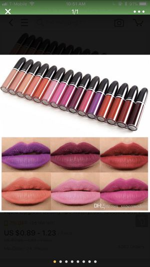 MAC RETRO LIPPIES MATTE $12 A TUBE for Sale in Silver Spring, MD