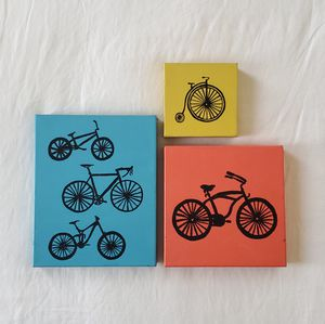 LOT of Bicycle Hang Art for Sale in CA, US