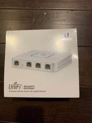 UniFi Security Gateway for Sale in Houston, TX
