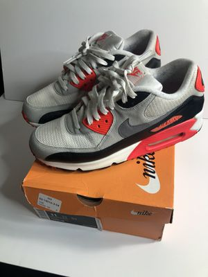 Nike og infrared air max 90 size 11 worn for Sale in Bellevue, WA