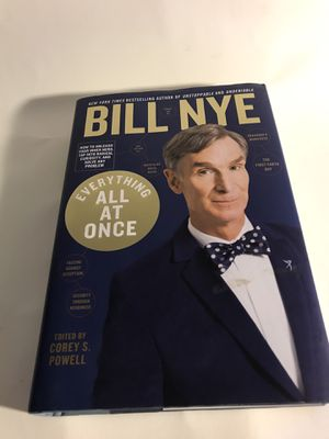 Bill Nye - Everything All At Once - Signed for Sale in San Francisco, CA