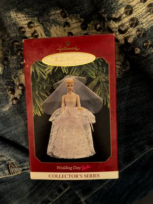 wedding day barbie keepsake collectors ornament for Sale in Wadsworth, OH