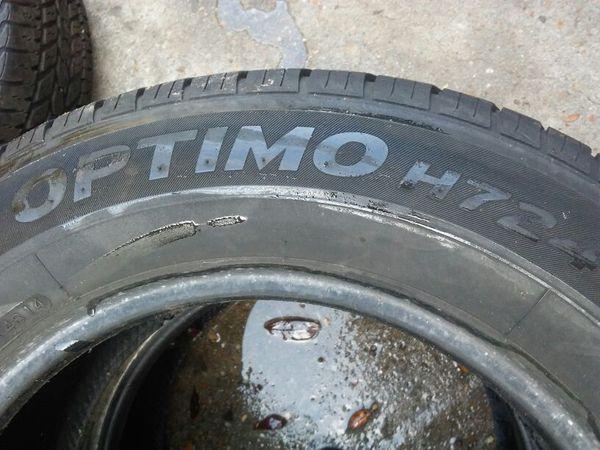 "PAIR OF HANCOOK 205/65/15"" tires"