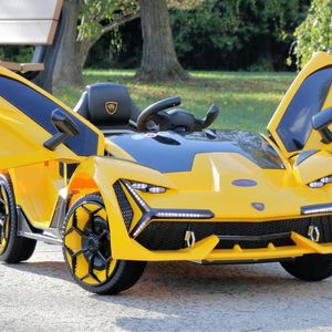 Lambo Concept - Electric Motorized Kids Car (Yellow) for Sale in Plymouth, MI