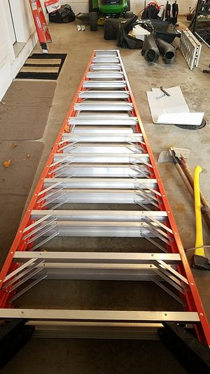 Werner 14 foot Double Sided Ladder for Sale in Twinsburg, OH