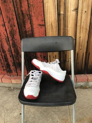 Jordan 11 Retro Low White Red for Sale in Los Angeles, CA