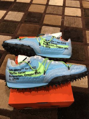 NIKE WAFFLE RACER OFF-WHITE (SIZE 9.5 IN MEN for Sale in Los Angeles, CA