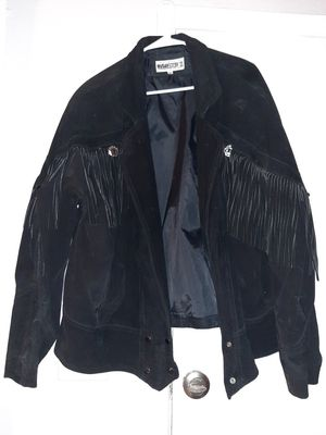 """ Outer Stuff II "" Leather fringe jacket 2xl for Sale in Tigard, OR"