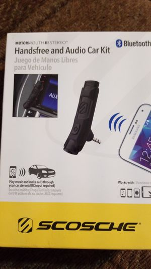 Hands free and Audio car kit for Sale in Grand Prairie, TX