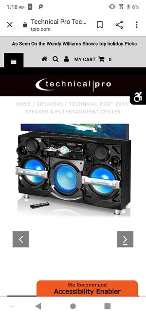 Technical Pro HiFi entertainment for Sale in Bellefontaine, OH