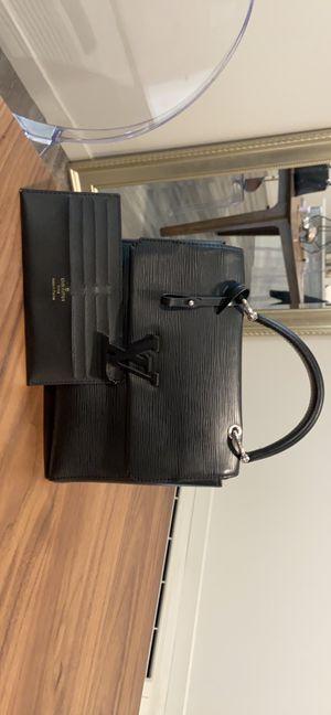 Louis Vuitton black Epi leather handbag for Sale in Portland, OR