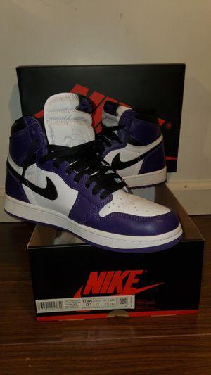 Jordan 1 Retro High Court Purple size 8.5 for Sale in Irwindale, CA