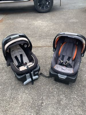 Car seats.....one is Graco, one is Eddie Bower. $30 each obo for Sale in Oregon City, OR