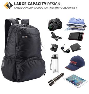 Packable Lightweight Back Pack for Travel 20L Foldable Backpack Hiking Daypacks for Men and Women for Sale in Edison, NJ