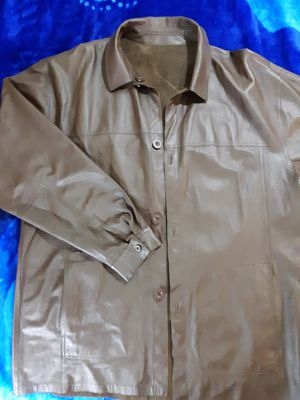 Mens Claude Lamont thin leather jacket, Size 3x. for Sale in Suitland-Silver Hill, MD