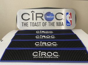 NBA / Ciroc Bar mats and sign for Sale in Orlando, FL