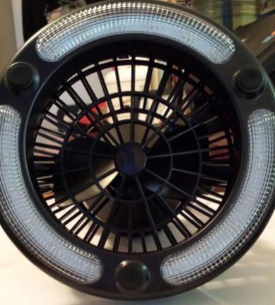New!! Camping ceiling fan, camping light, tent fan