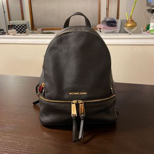 Michael Kors Leather Backpack for Sale in Renton, WA