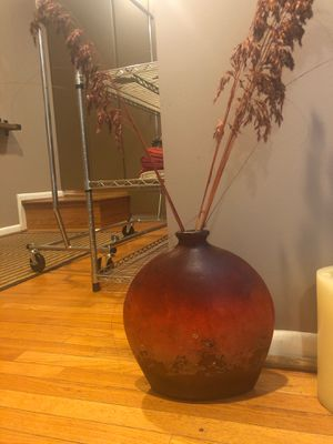 2 Red vases for Sale in Falls Church, VA