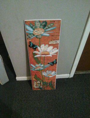 Orange flower poster for Sale in Creve Coeur, IL
