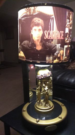 """""""scareface"""" table lamps for Sale in Wichita, KS"""