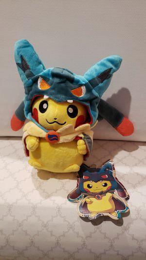 Pokemon Center Official Pikachu Mega Lucario Plush for Sale in Escondido, CA