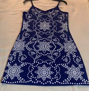 Blue with White Embellishment Michael Kors Dress for Sale in Alpharetta, GA