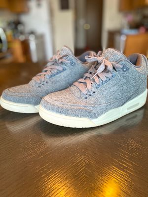 Jordan 3 Retro Wool Size 8 for Sale in Tacoma, WA