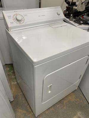 Dryer whirlpool / free delivery/ 90 days warranty/ works good / heavy capacity for Sale in West Palm Beach, FL