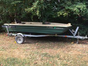 Sundolphin 12' Jon Boat and trailer for Sale in Dawson, WV