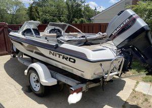 "18' 0"" Tracker Nitro Boat for Sale in Baltimore, MD"