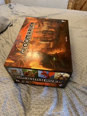 Gloomhaven Board Game w/ Insert and replaceable stickers for Sale in Portland, OR