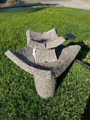 Brand new resin water fountain 30 inches tall for Sale in Fontana, CA