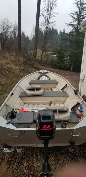 14 foot Aluminum Boat for Sale in Battle Ground, WA