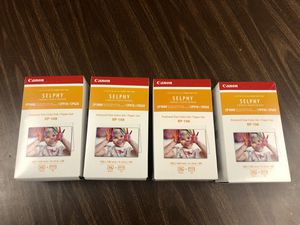 Canon RP-108 Color Ink / Paper Set, SELPHY CP910 / CP820 / CP1200 / CP1300 for Sale in Costa Mesa, CA