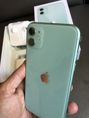 iPhone 11 green for TMobile, metro and sprint 64gb for Sale in Monterey Park, CA