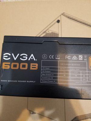 EVGA 600w 80+ bronze for Sale in Miami, FL